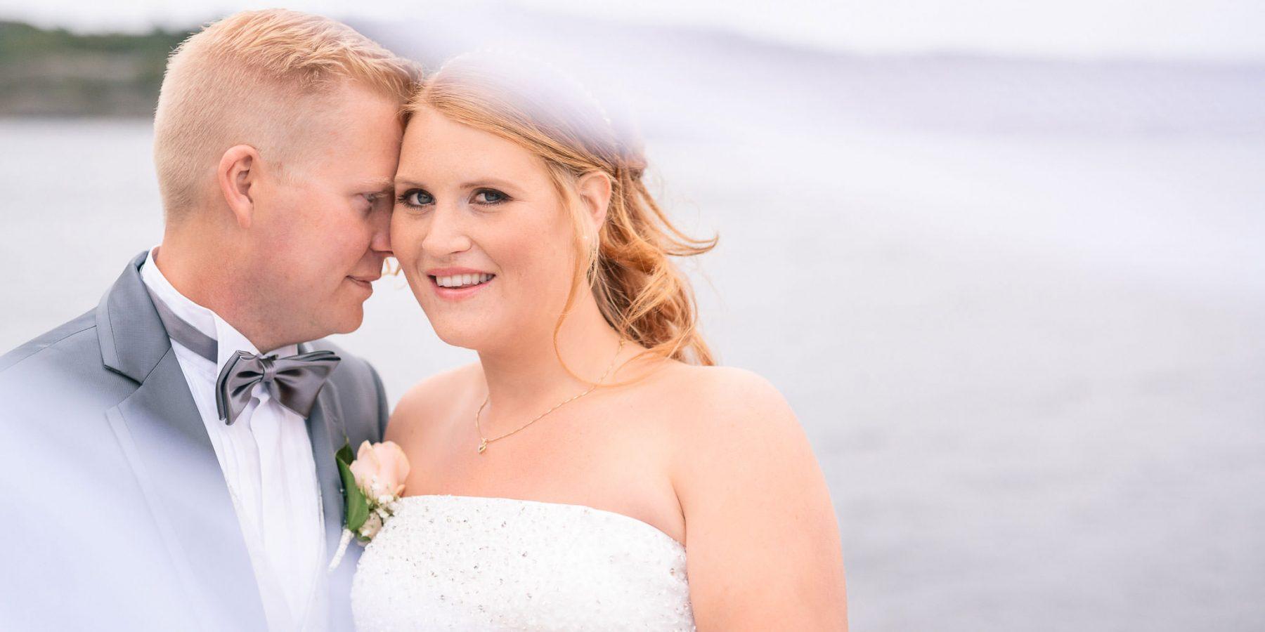 Anna & Andreas bröllopsfotografering i Rönnäng