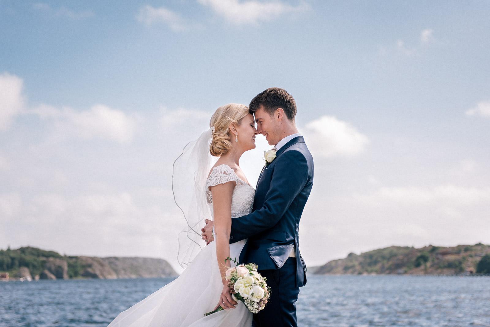 Bröllopsfotografering Orust