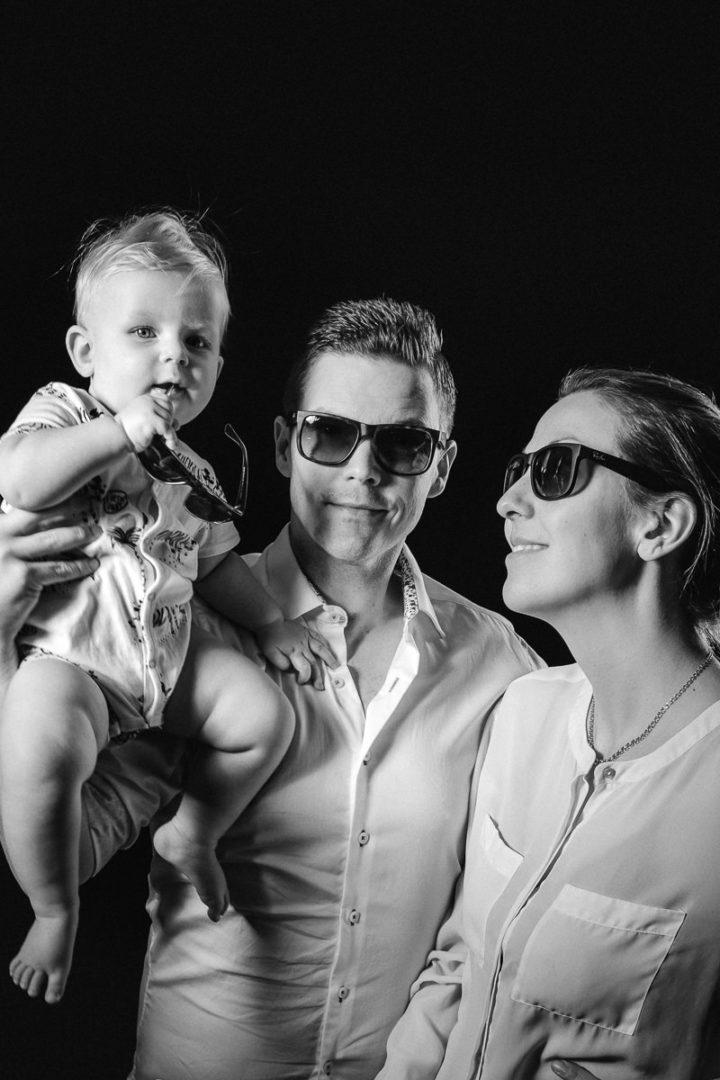 Wallfoto Fotograf Jonas Wall med familj
