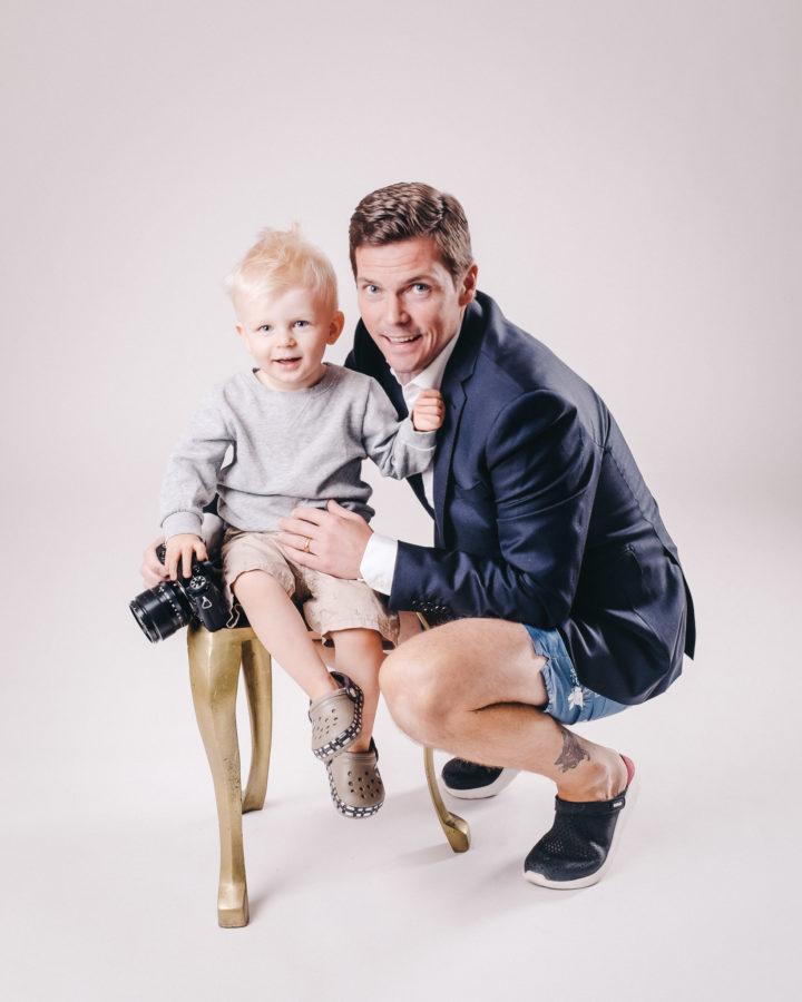 Familjefotograf Göteborg - Gott nytt år 2019 - Wallfoto