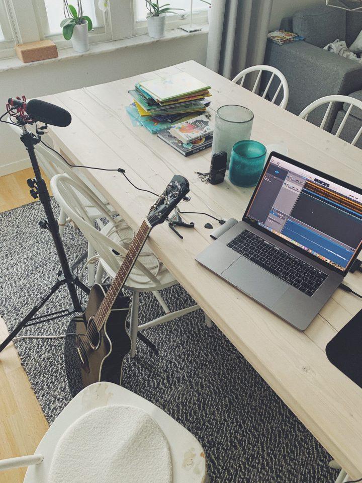 Wallfoto skapar musik